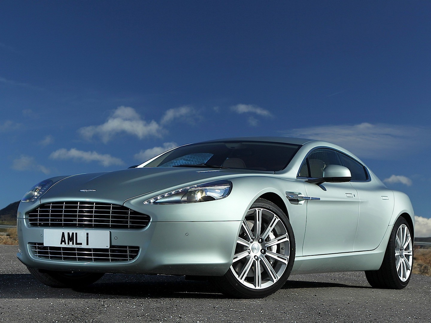 Aston Martin Rapide on 2015 Dodge Sedan