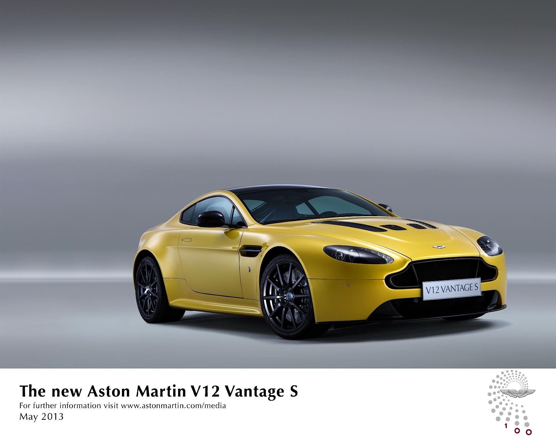 Aston Martin V12 Vantage S Spezifikationen Fotos 2013 2014 2015 2016 2017 2018 Autoevolution In Deutscher Sprache