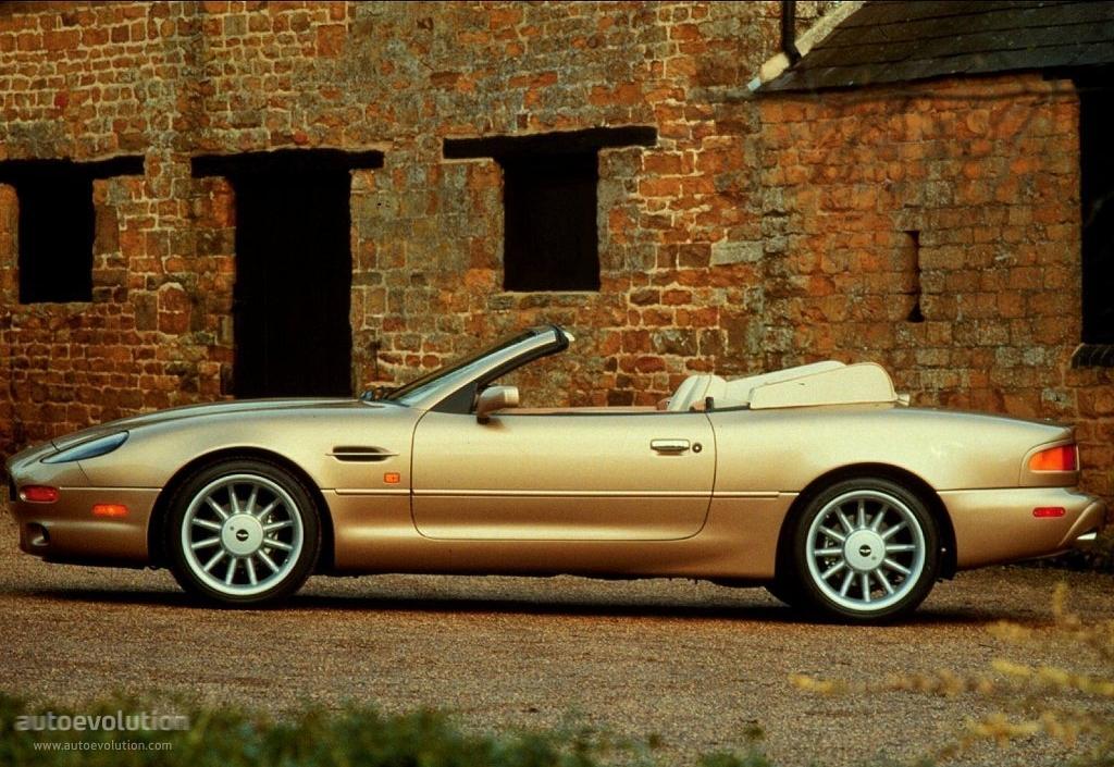 1996 Aston Martin DB7 - Car Photo and Specs