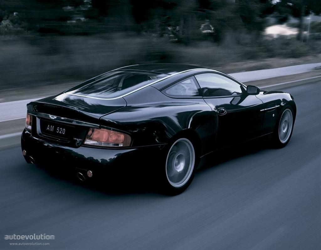 Aston Martin Vanquish S 2004 2005 2006 2007