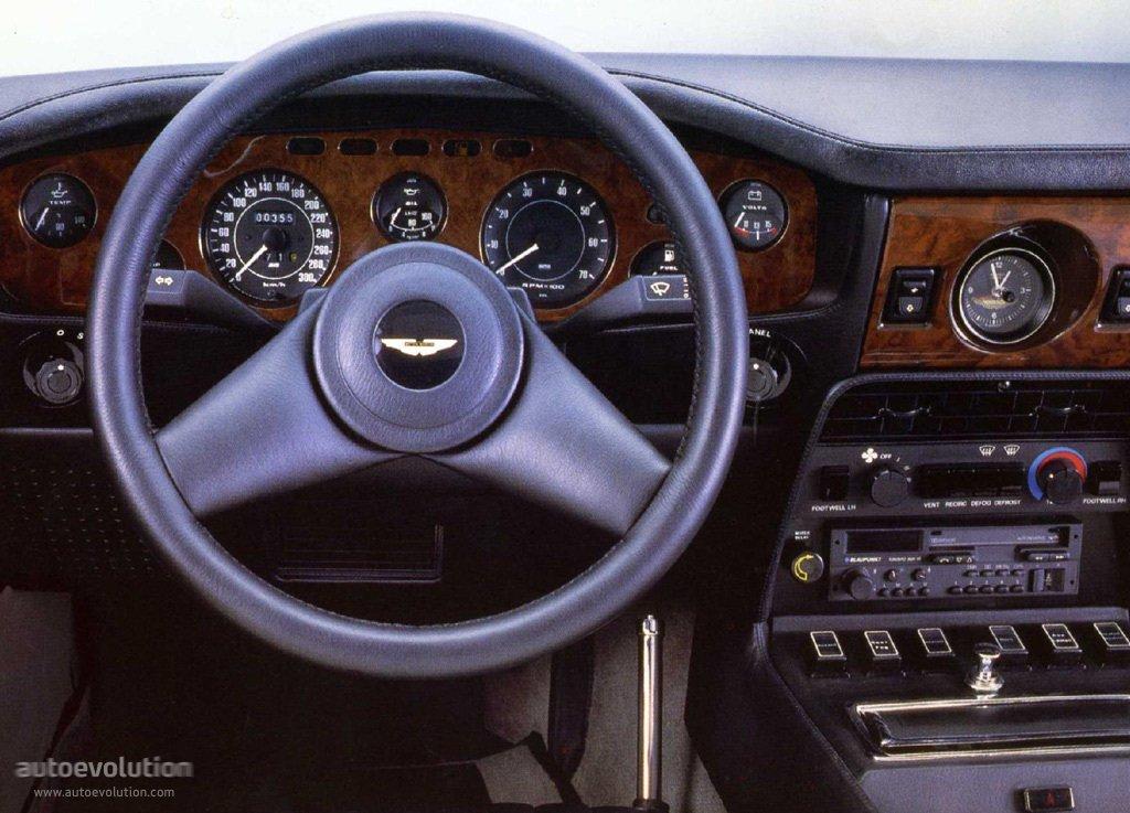 Aston martin v8 vantage specs 1977 1978 1979 1980