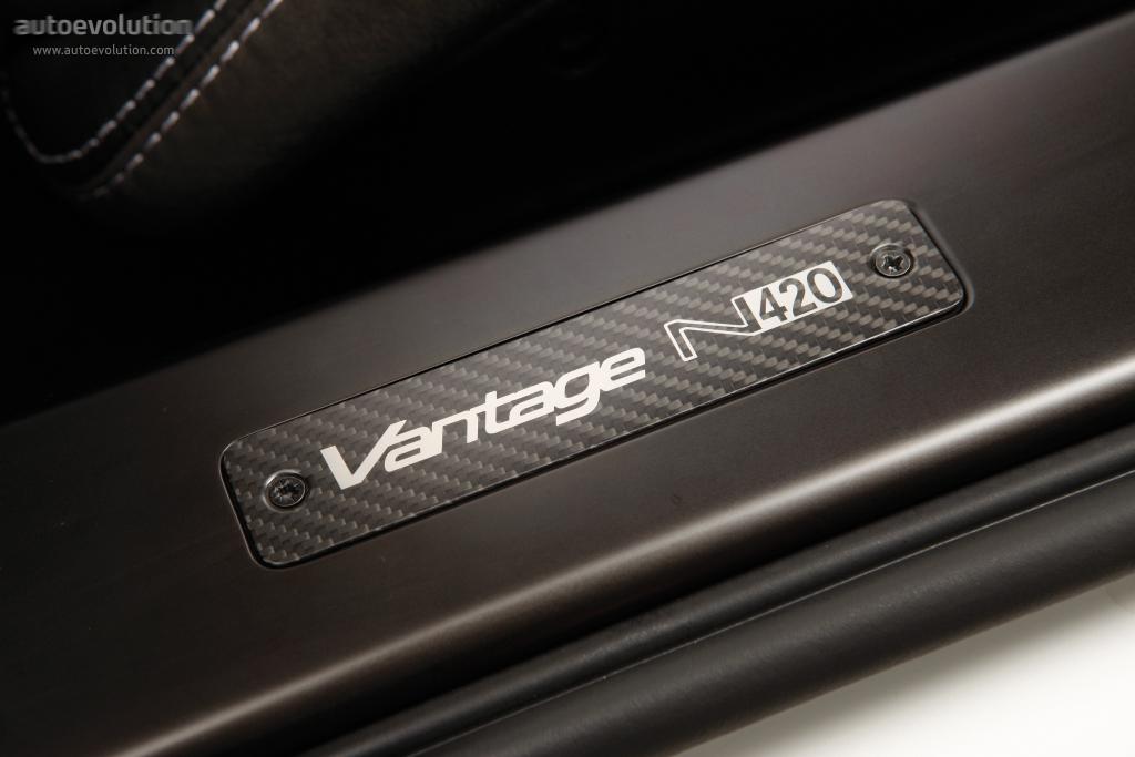 Aston Martin V8 Vantage N420 Specs Photos 2010 2011 2012 2013