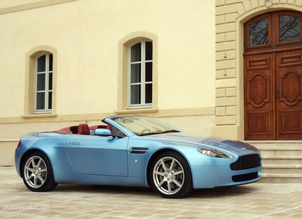 Aston Martin V8 Vantage Roadster Specs Photos 2006 2007 2008 Autoevolution