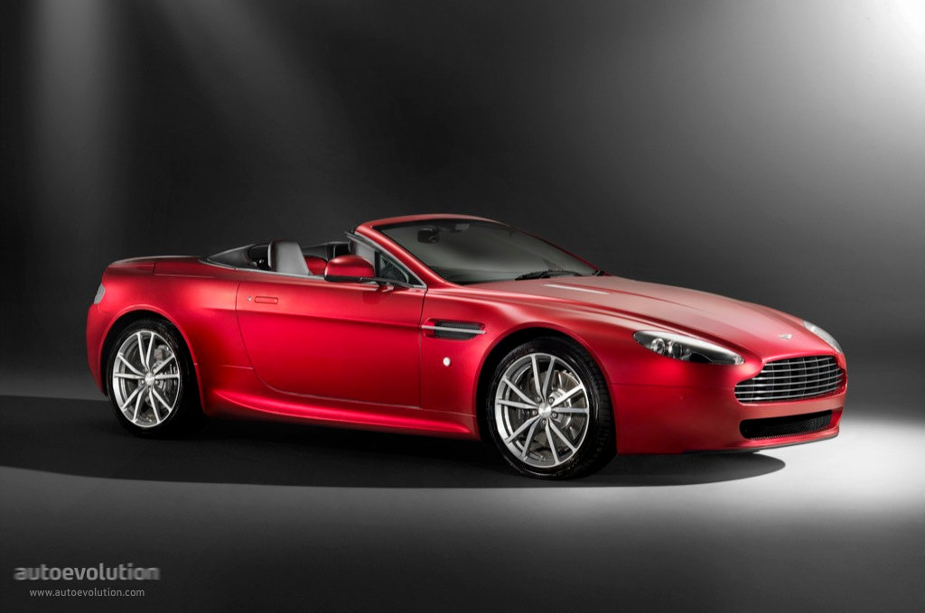 Aston Martin V8 Vantage Roadster Specs Photos 2008 2009 2010