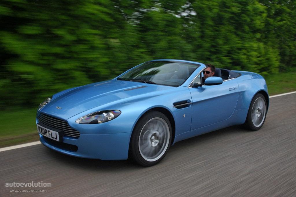 Aston Martin V8 Vantage Roadster Specs 2008 2009 2010