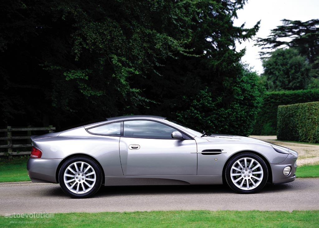 Aston Martin Vanquish 2001 2002 2003 2004 2005 2006