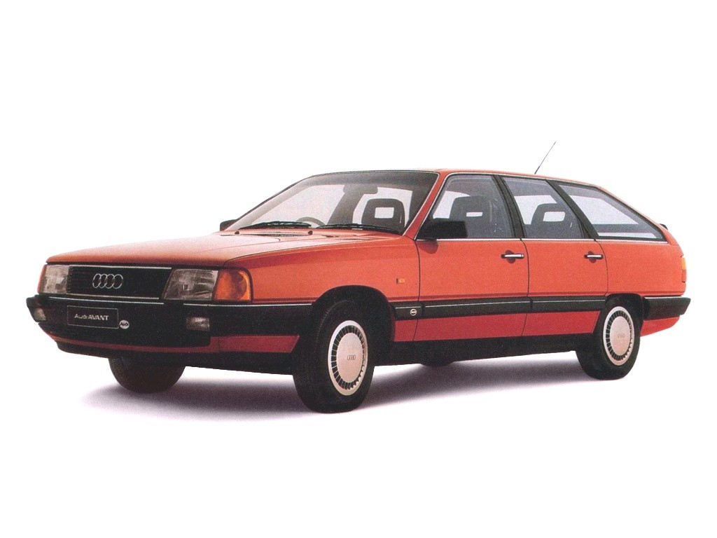 AUDI 100 Avant (C3) - 1983, 1984, 1985, 1986, 1987, 1988 ...