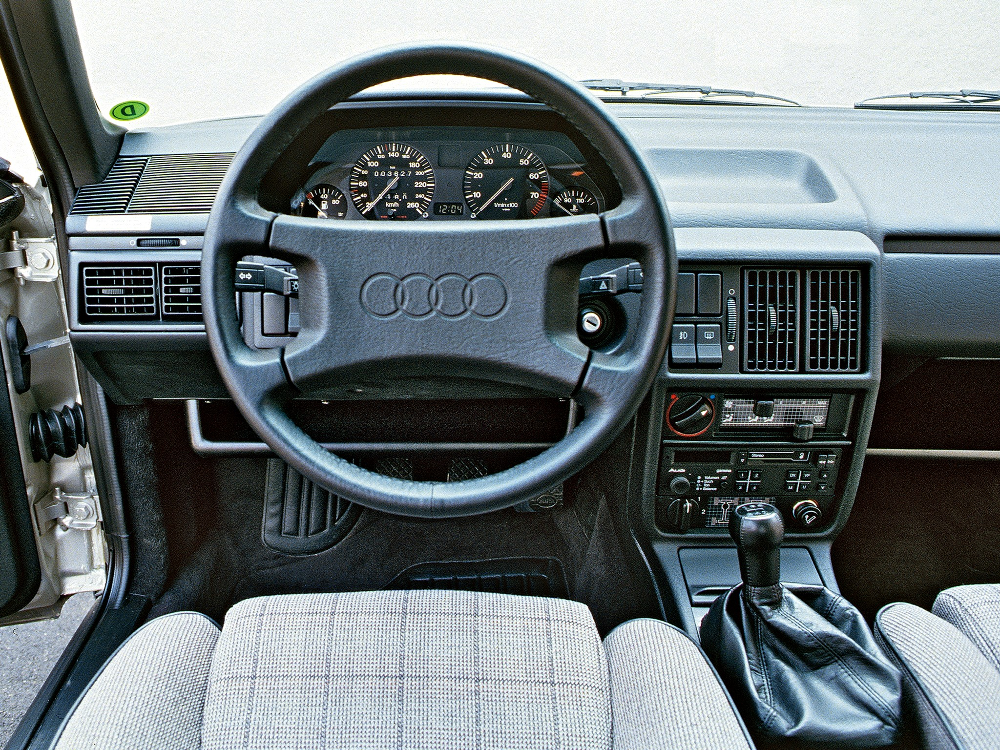 ... AUDI 100 Avant (C3) (1983 - 1991)