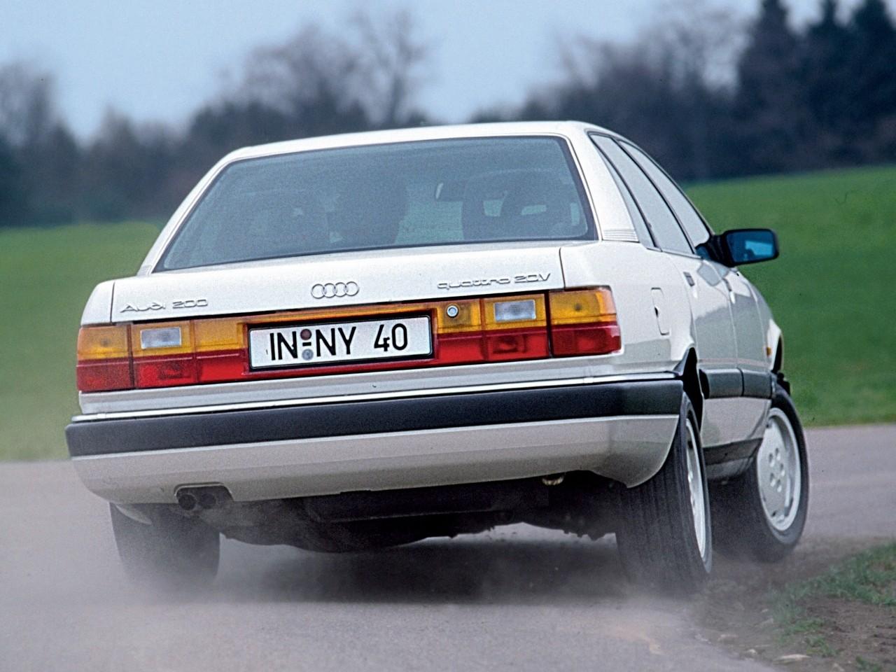 AUDI 200 - 1984, 1985, 1986, 1987, 1988, 1989, 1990, 1991 ...