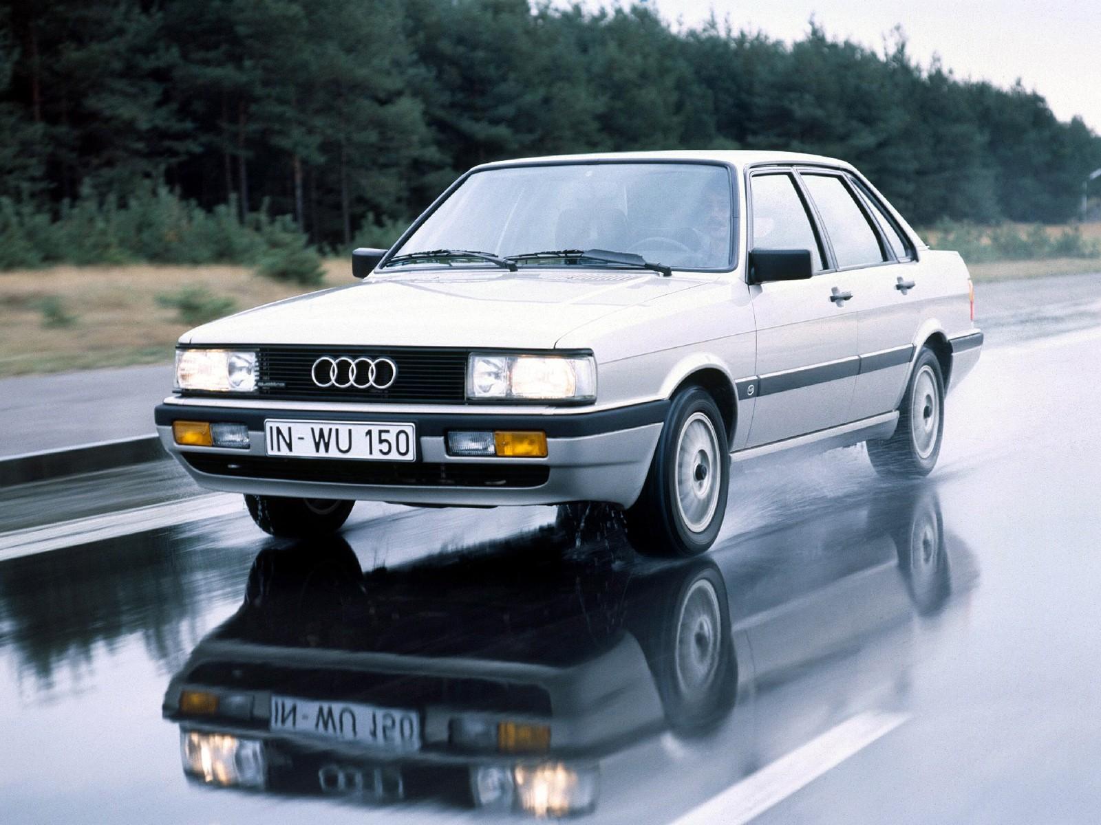 AUDI 90 (B2) specs & photos - 1984, 1985, 1986, 1987 ...