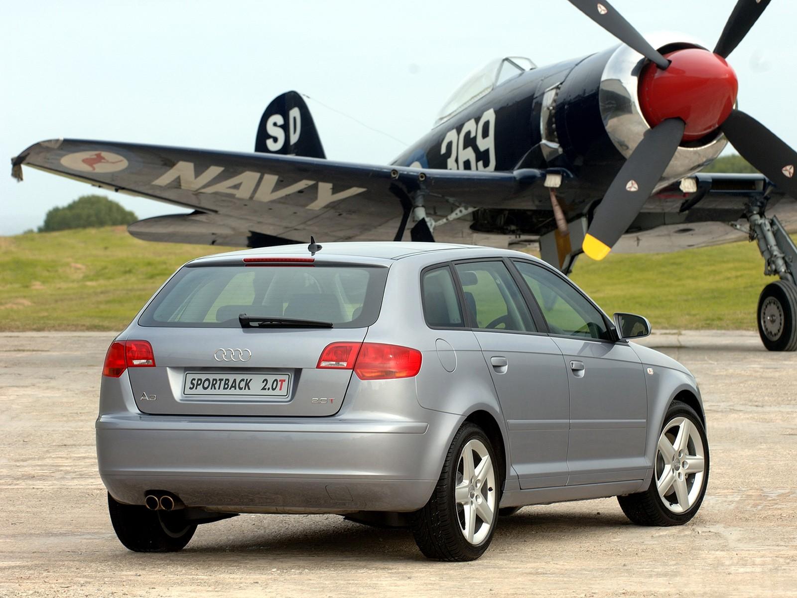 AUDI A3 Sportback specs & photos - 2004, 2005, 2006, 2007 ...