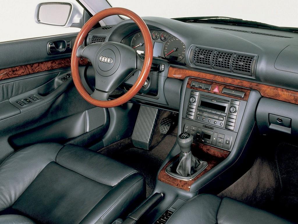Audi a4 specs 1994 1995 1996 1997 1998 1999 2000