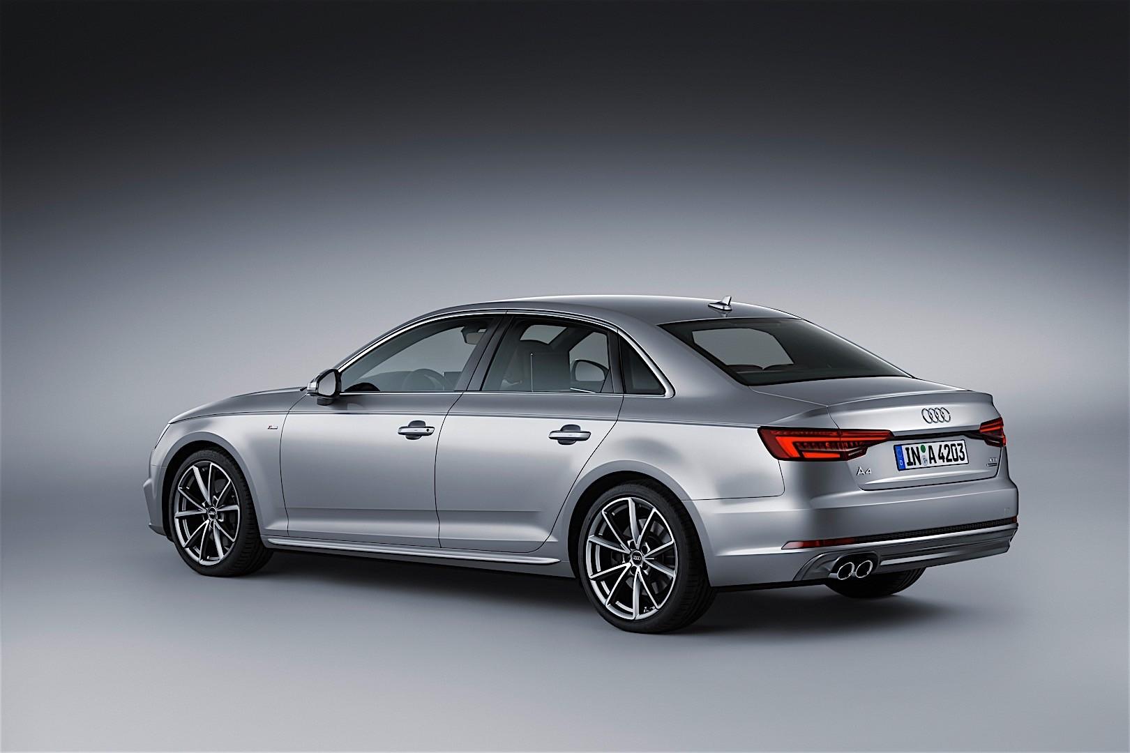 Audi a4 specs photos 2016 2017 2018 autoevolution for Lunghezza audi a4 berlina