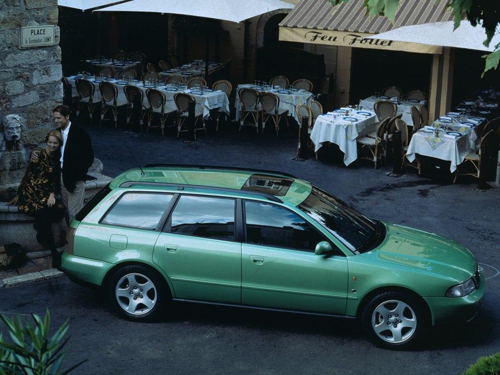 AUDI A4 Avant specs & photos - 1996, 1997, 1998, 1999 ...