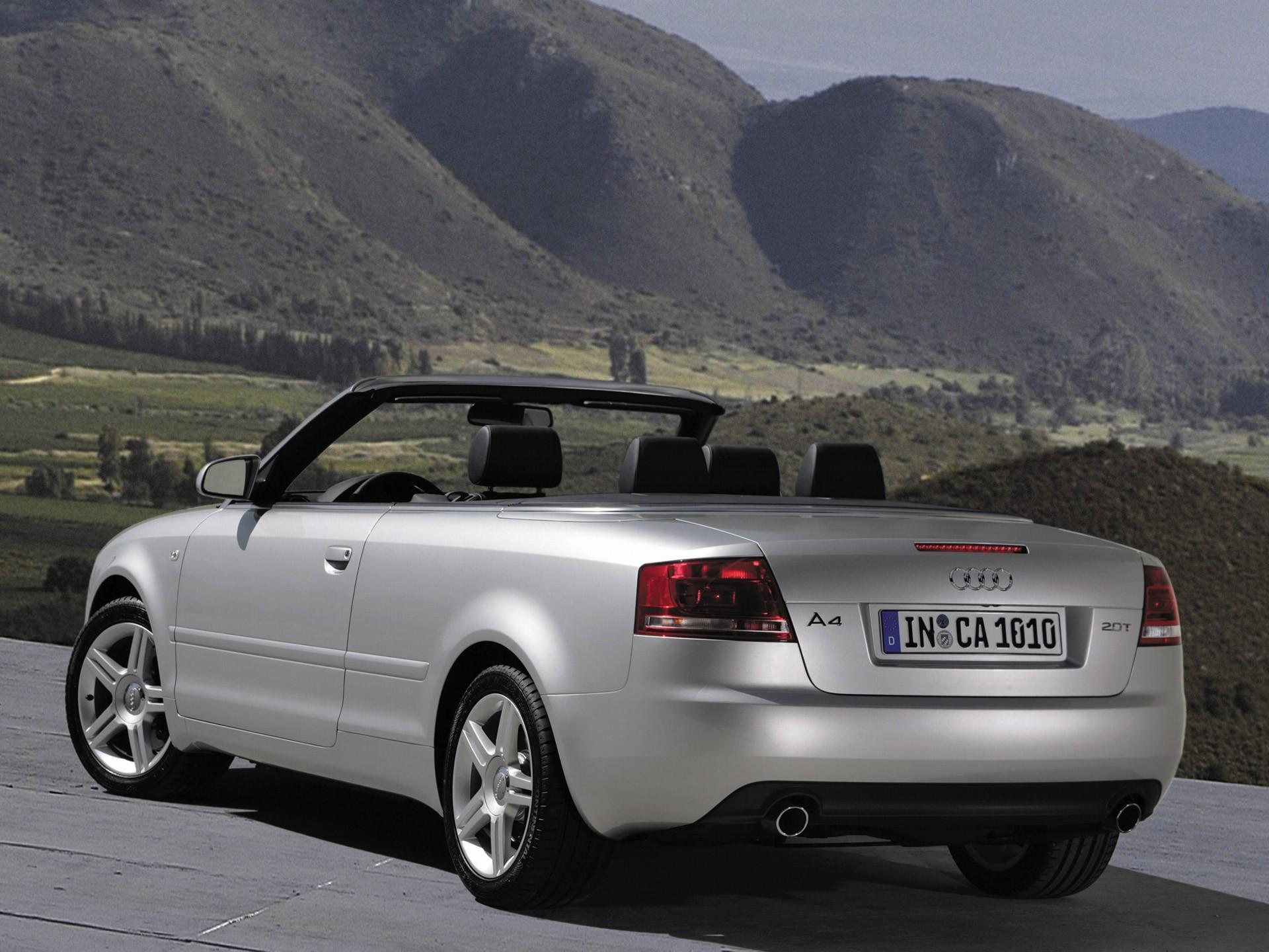2006 Audi A4 2.0 T >> AUDI A4 Cabriolet - 2005, 2006, 2007, 2008 - autoevolution