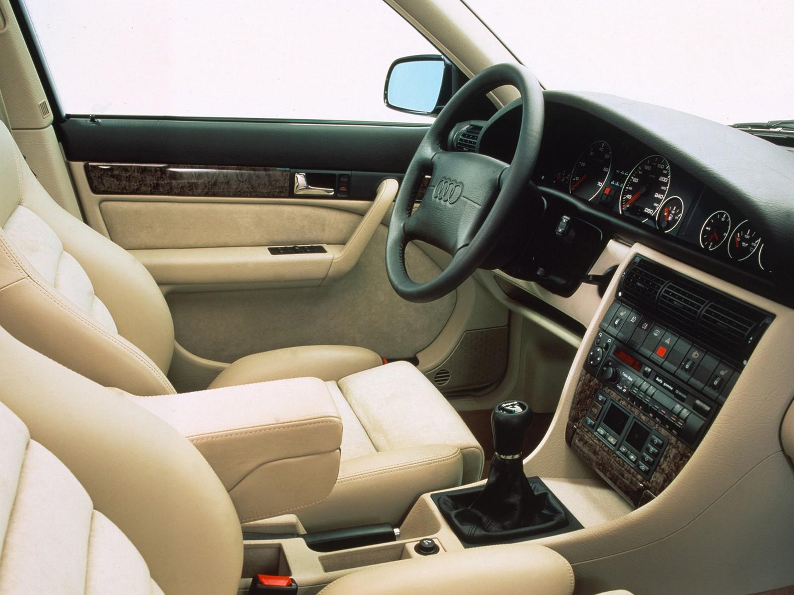 AUDI A6 (C4) specs - 1994, 1995, 1996, 1997 - autoevolution