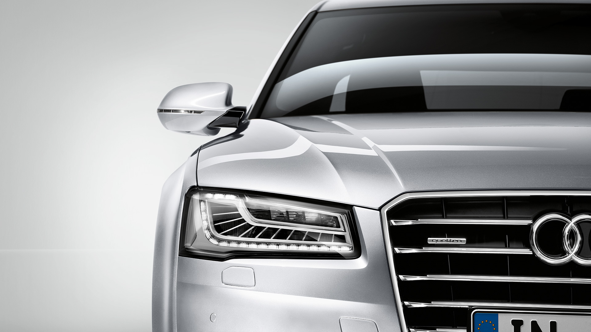 Audi S8 2014 White  YouTube