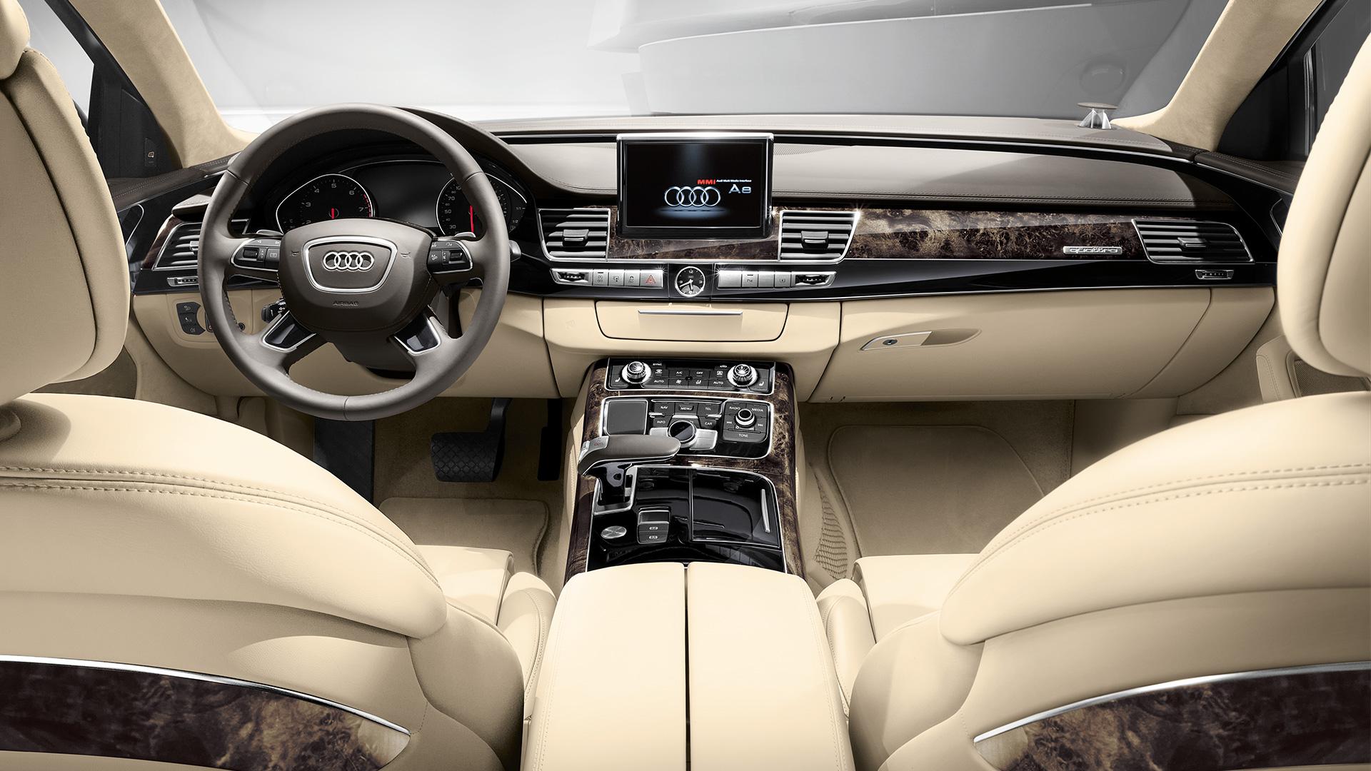 Audi a8 d4 2013 2014 2015 2016 autoevolution for Interieur verlichting