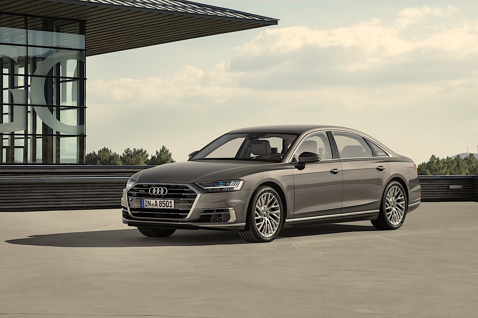 AUDI A8 L specs & photos - 2017, 2018, 2019 - autoevolution
