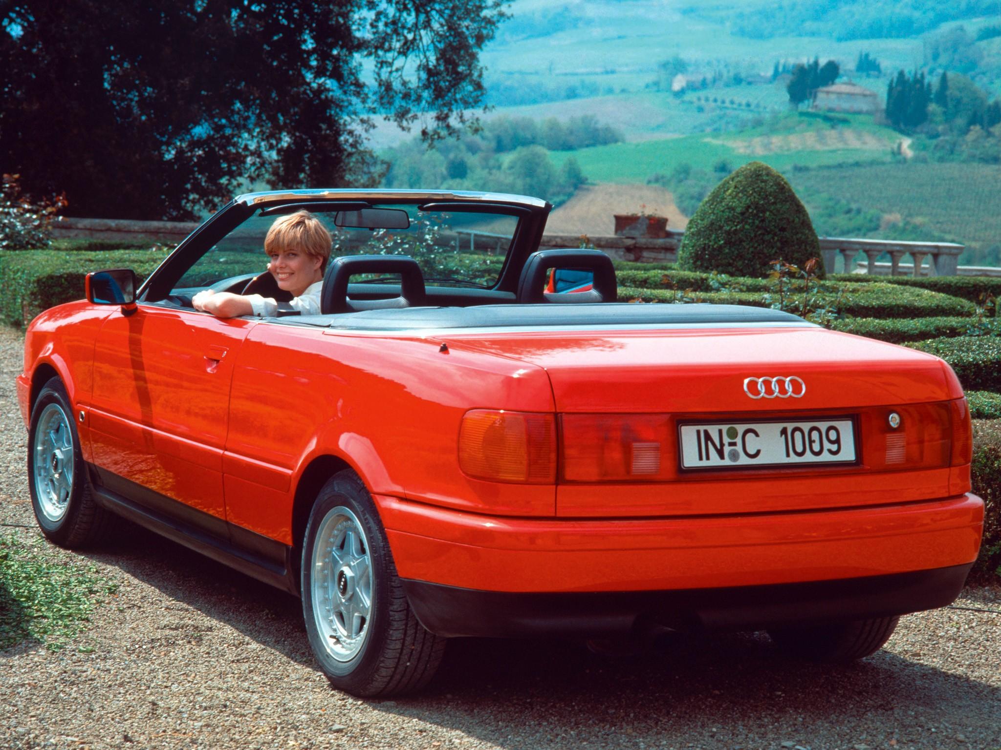Audi Cabriolet Specs Amp Photos 1991 1992 1993 1994