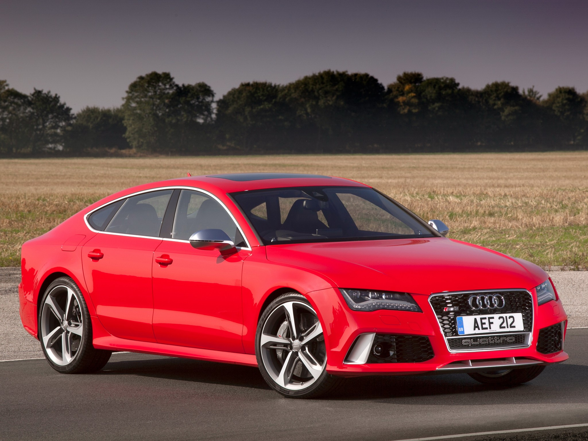 Audi rs7 performance top speed 13