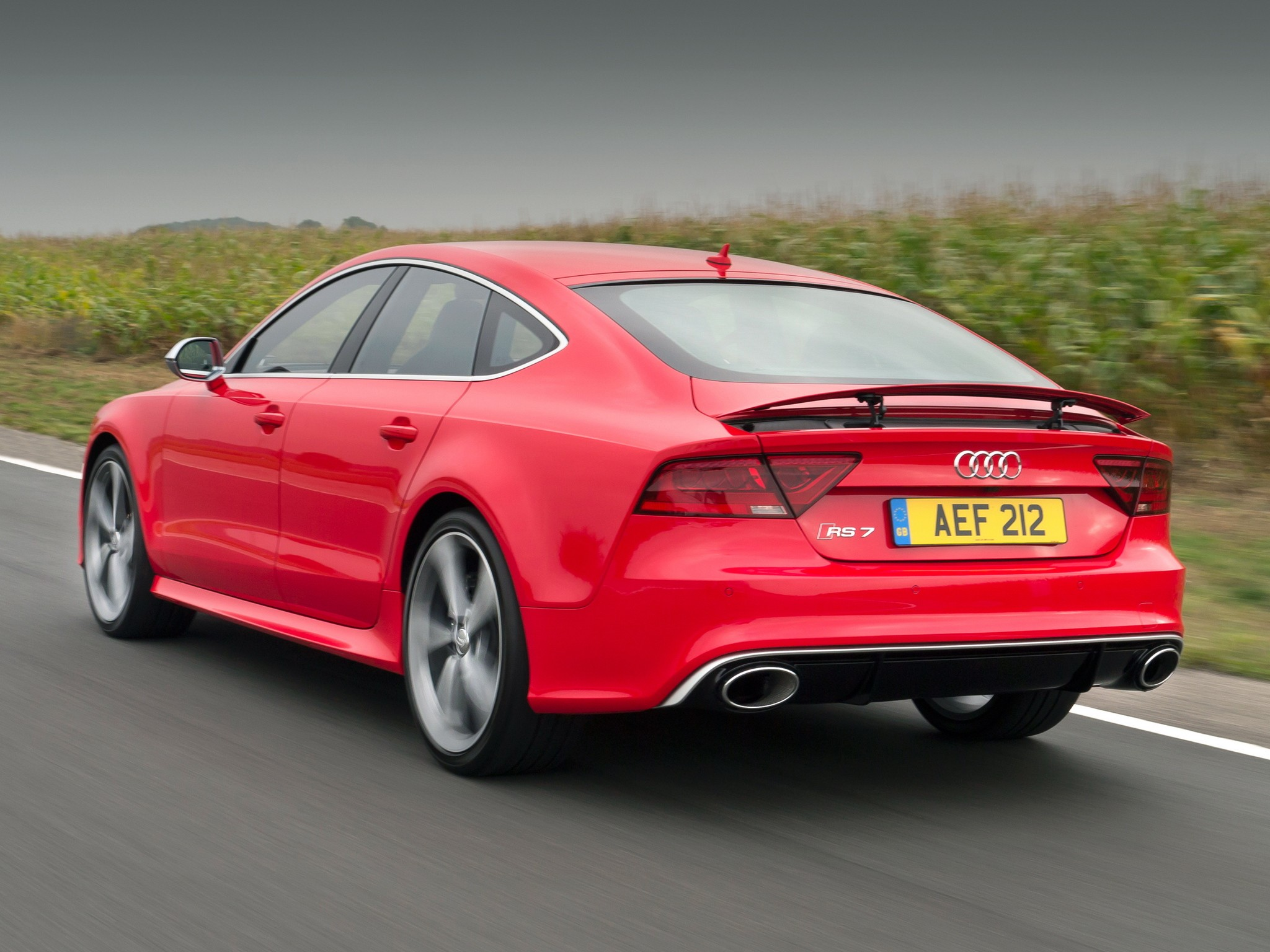Audi rs7 performance top speed 14