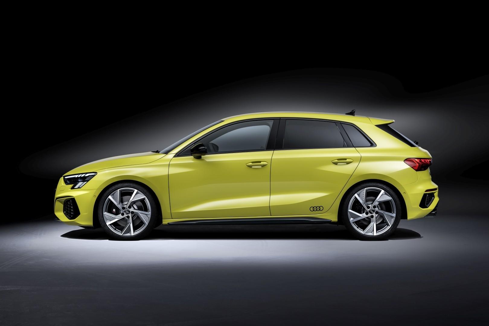 AUDI S3 Sportback specs & photos - 2020, 2021 - autoevolution