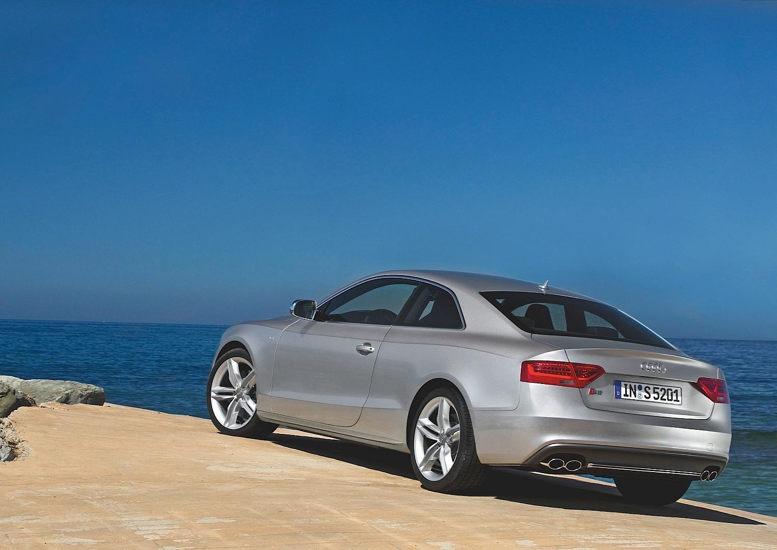 Audi s5 2012 Blue Exterior Audi s5 Coupe 2012