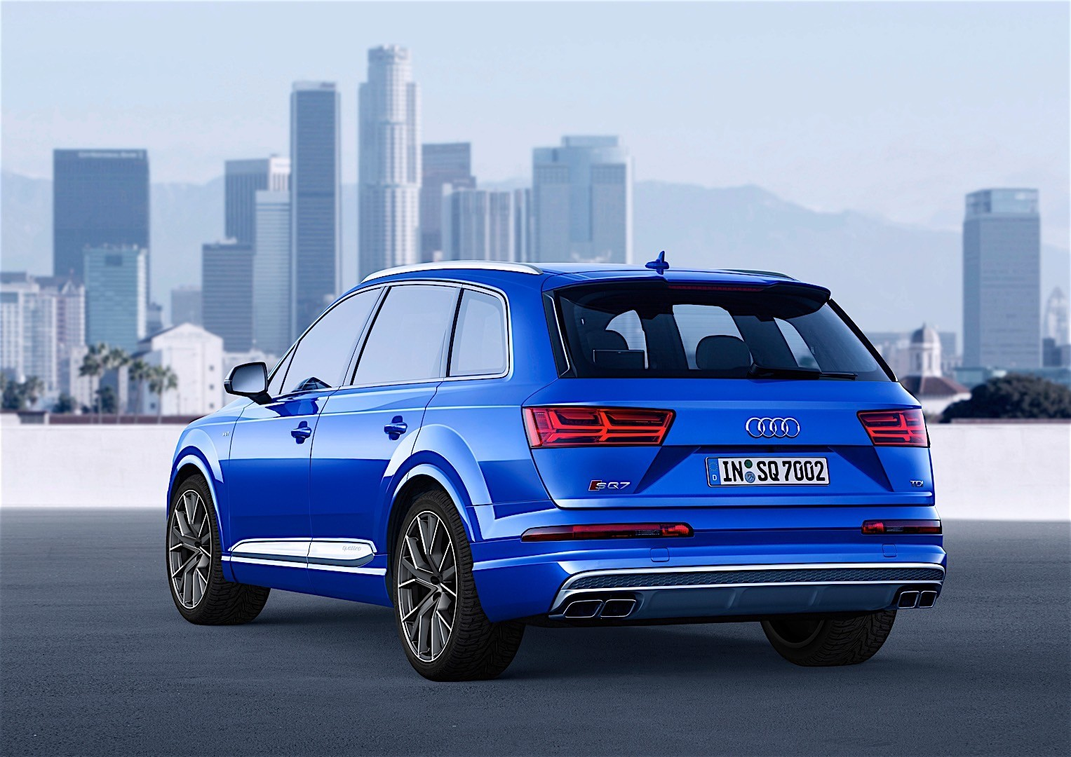 Audi Sq7 2016 Autoevolution