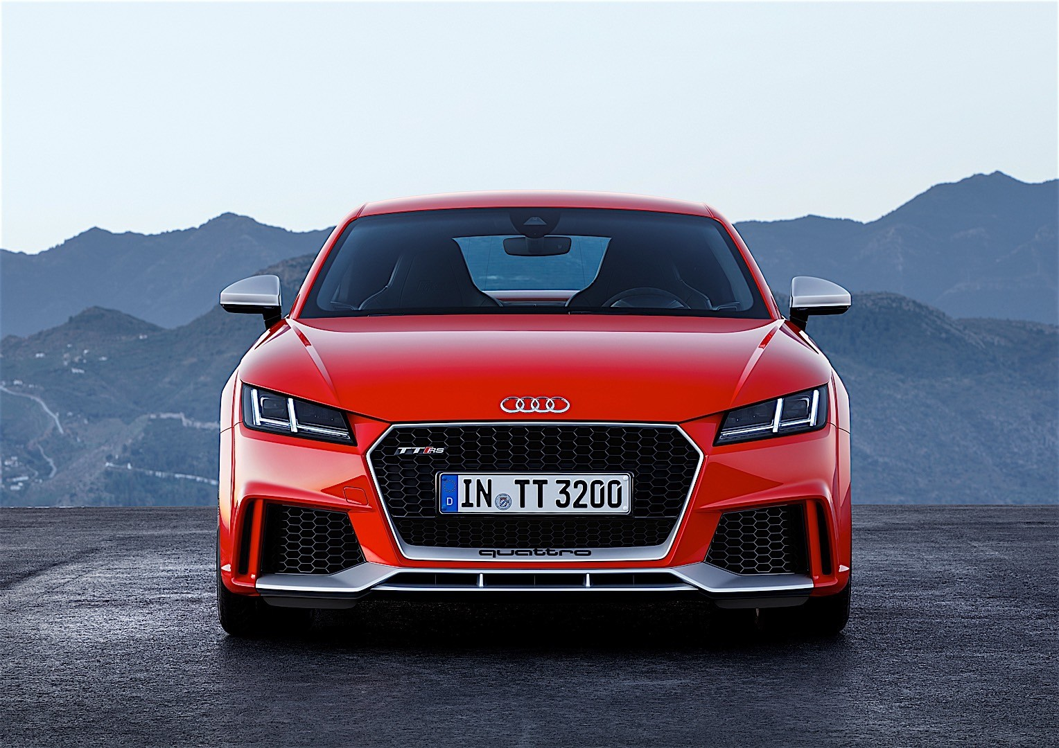 audi tt rs coupe 2016 autoevolution. Black Bedroom Furniture Sets. Home Design Ideas