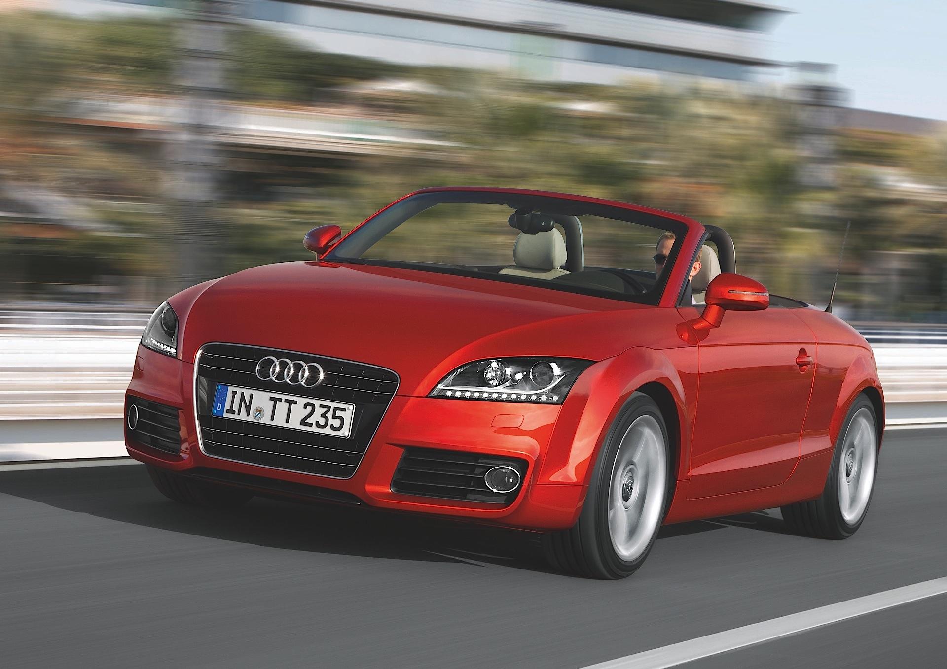 Audi tt roadster 2016 specs