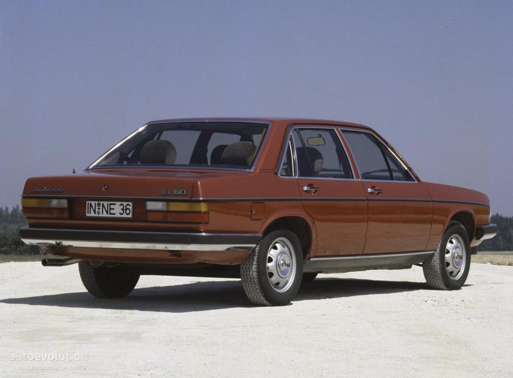 AUDI 100 (C2) - 1976, 1977, 1978, 1979, 1980, 1981, 1982 ...