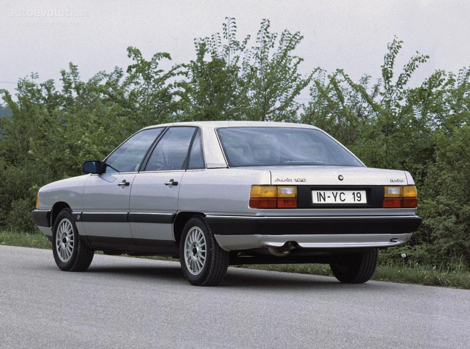 AUDI 100 (C3) - 1982, 1983, 1984, 1985, 1986, 1987, 1988 ...