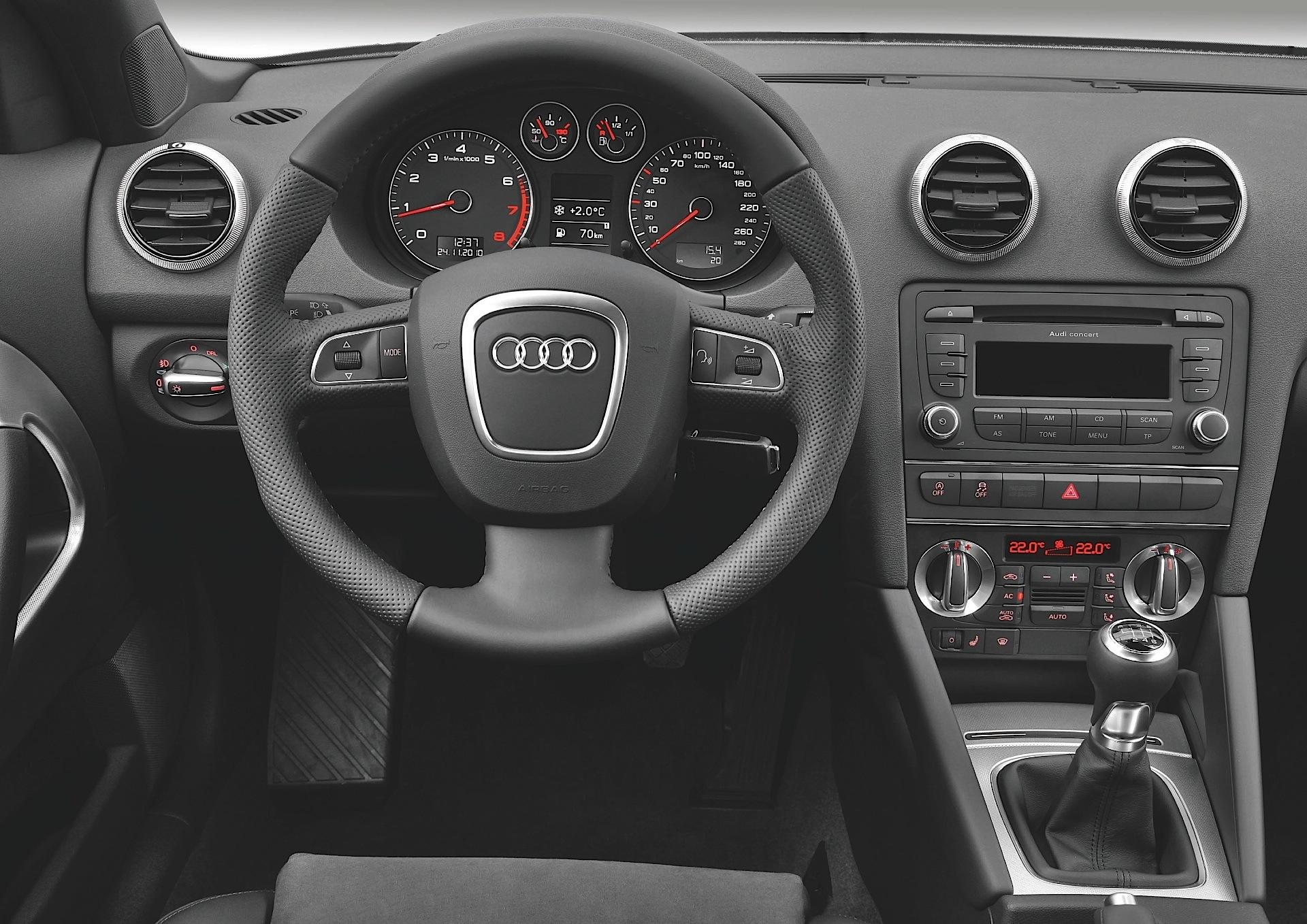 Audi a3 cabriolet specs 2008 2009 2010 2011 2012 for Audi a3 onderdelen interieur