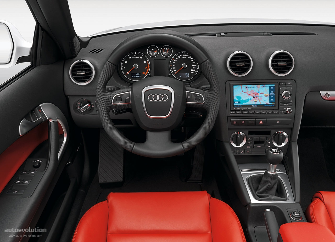 Audi a3 cabriolet specs 2008 2009 2010 2011 2012 for Interieur audi a3 2006