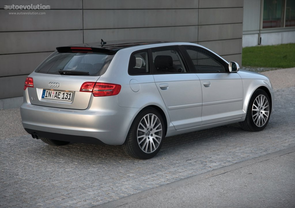 audi a3 sportback specs 2008 2009 2010 2011 autoevolution. Black Bedroom Furniture Sets. Home Design Ideas