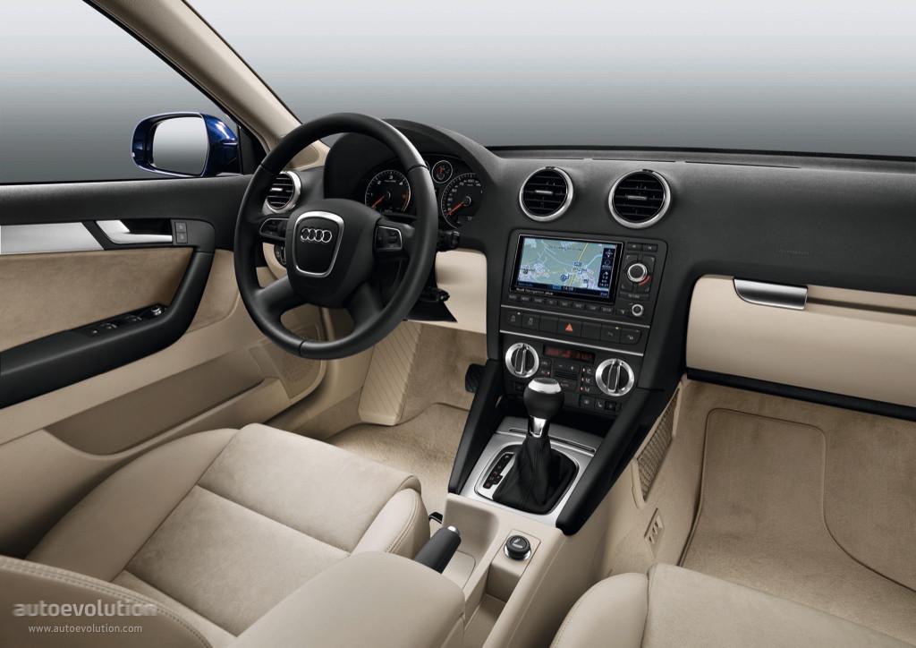 Audi A3 Sportback Specs 2008 2009 2010 2011