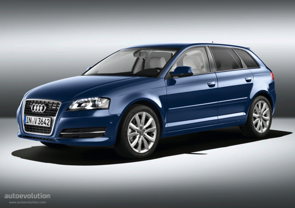 audi a3 sportback specs photos 2008 2009 2010 2011 autoevolution. Black Bedroom Furniture Sets. Home Design Ideas