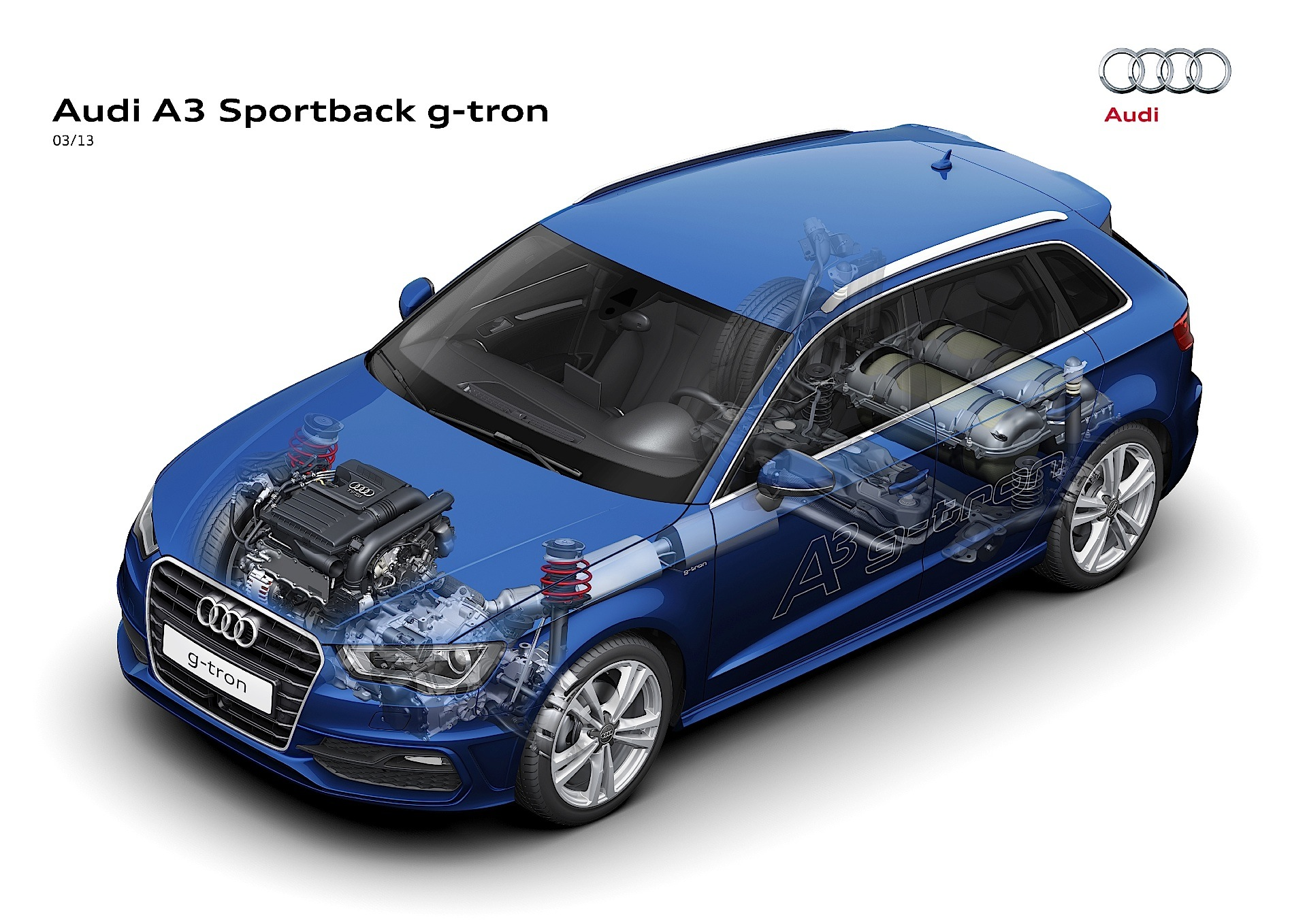 audi a3 sportback g tron 2013 2014 2015 2016 autoevolution. Black Bedroom Furniture Sets. Home Design Ideas