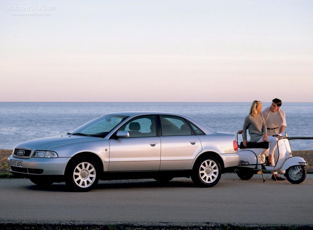 Audi A4 1994 1995 1996 1997 1998 1999 2000 2001 Autoevolution