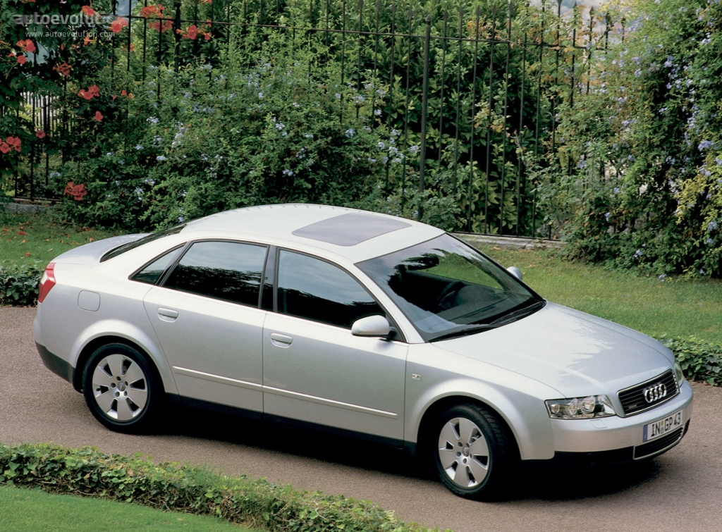 Audi A4 2001 2002 2003 2004 Autoevolution