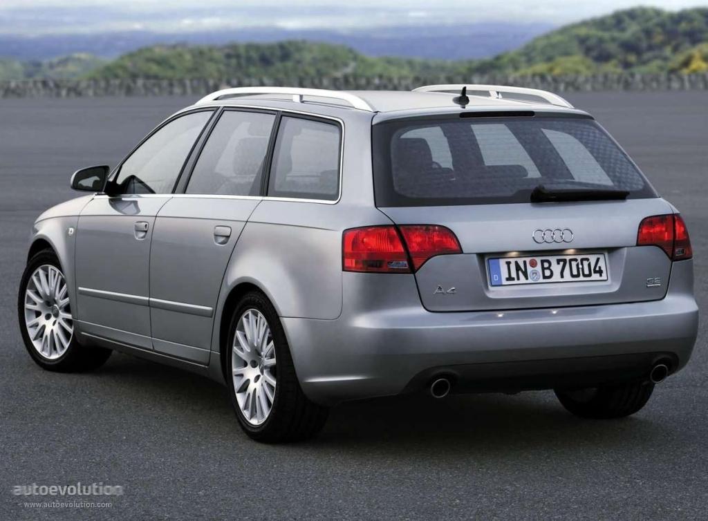 AUDI A4 Avant specs - 2004, 2005, 2006, 2007 - autoevolution