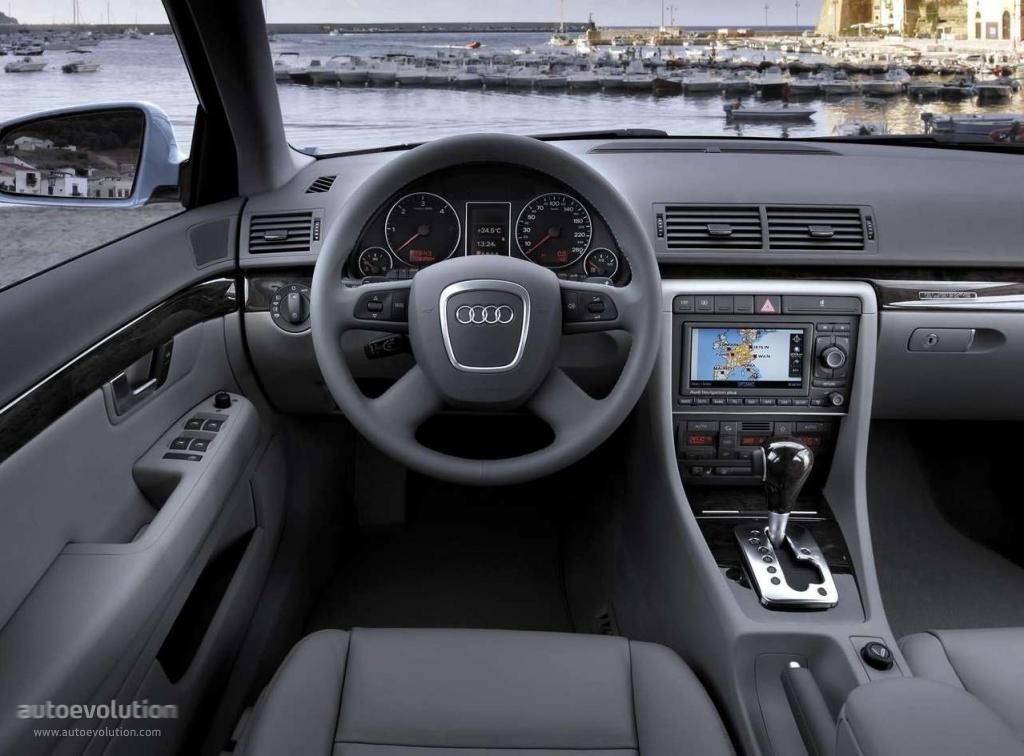 Audi a4 2004 Kombi Interior Audi a4 Avant 2004