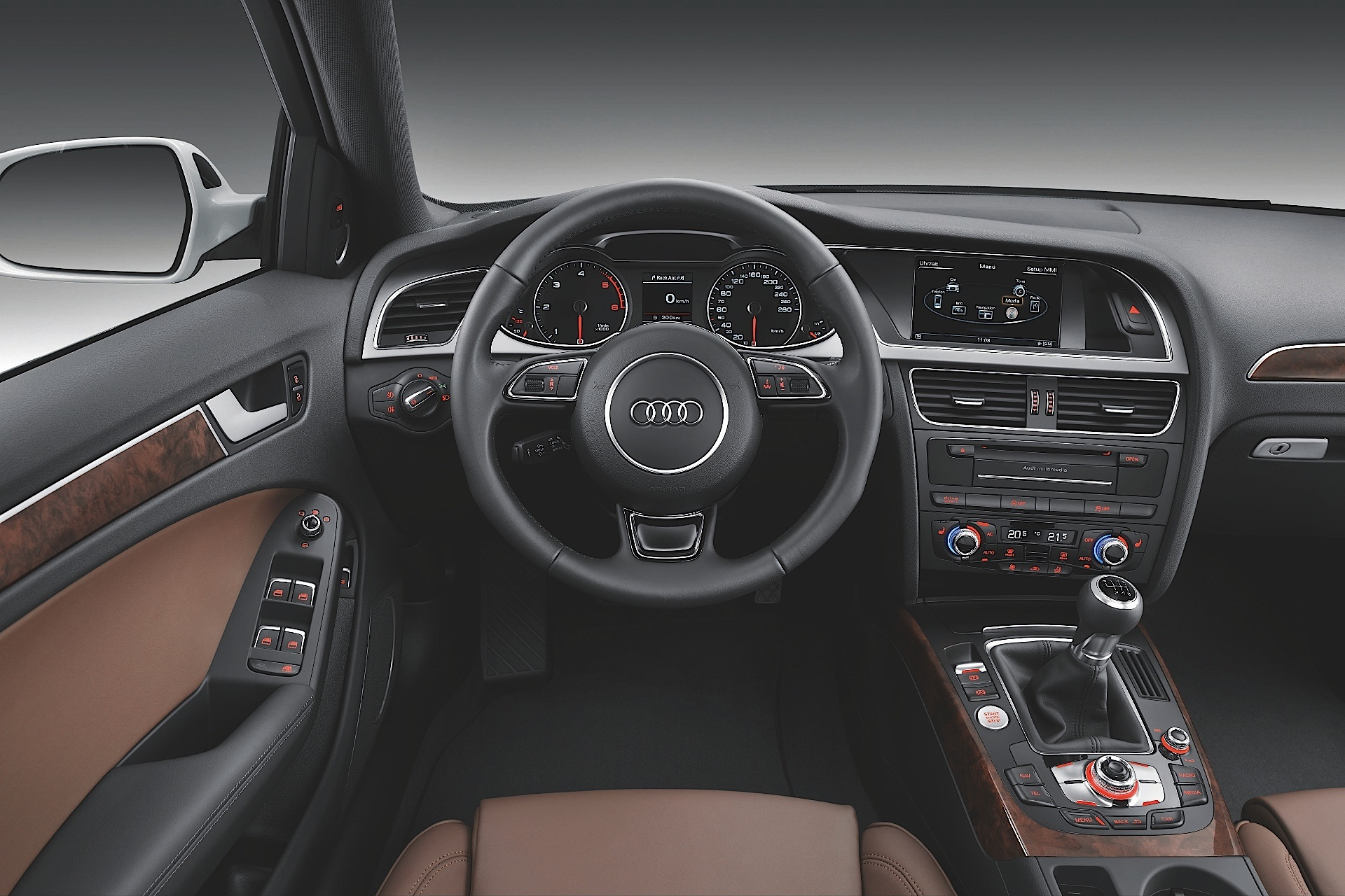 Audi a4 avant specs 2008 2009 2010 2011 2012 for Interieur 2015
