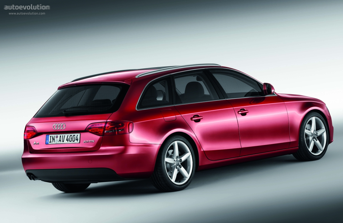 audi a4 avant 2008 2009 2010 2011 2012 autoevolution. Black Bedroom Furniture Sets. Home Design Ideas