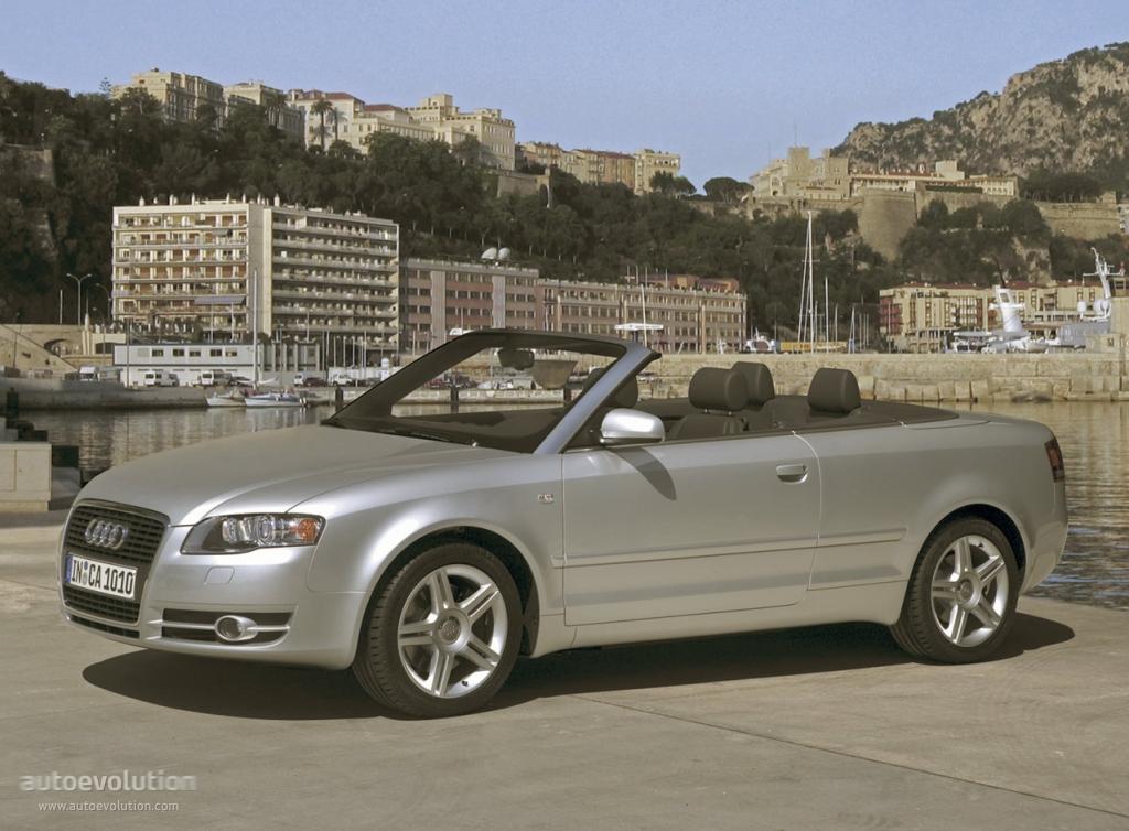 Audi A4 Cabriolet 2005 2008