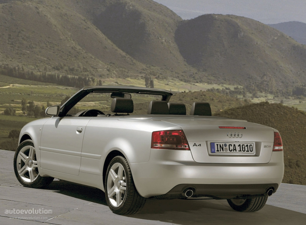 Audi A4 Cabriolet Specs Photos 2005 2006 2007 2008