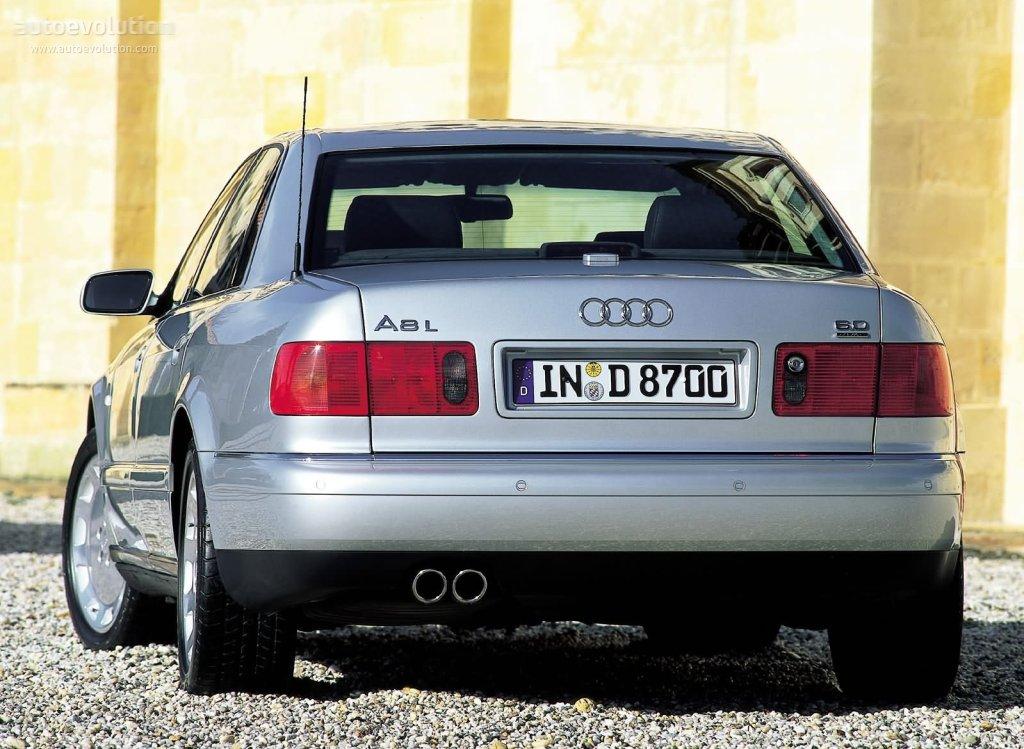 AUDI A8 (D2) specs - 1994, 1995, 1996, 1997, 1998, 1999 - autoevolution