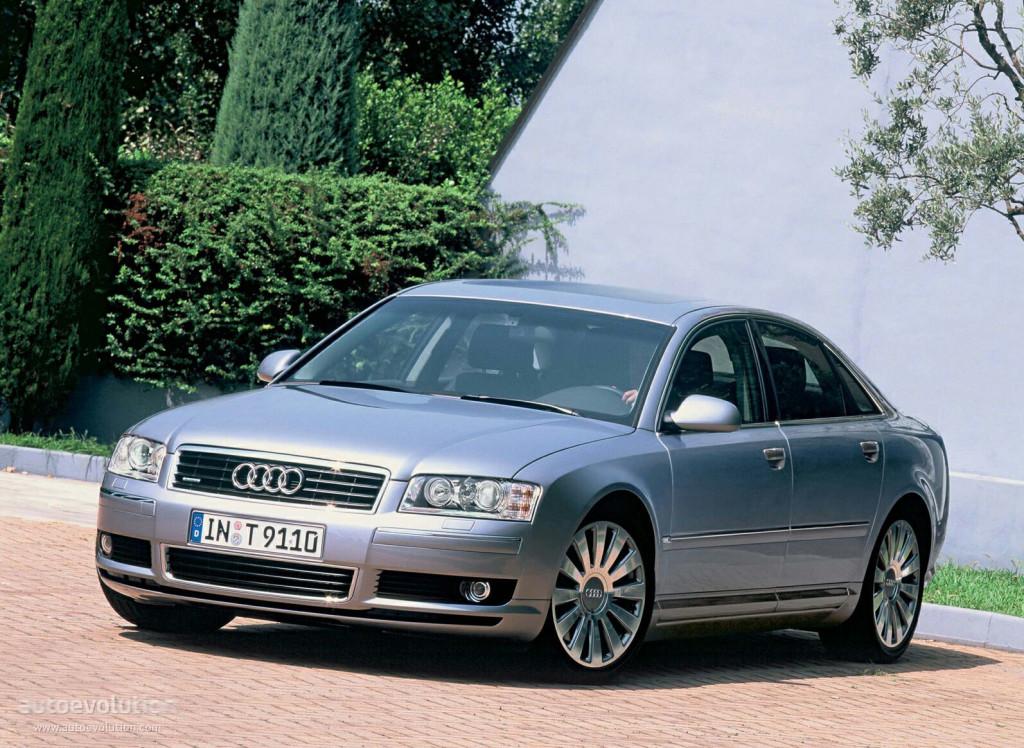 Audi A8 D3 2003 2004 2005 Autoevolution