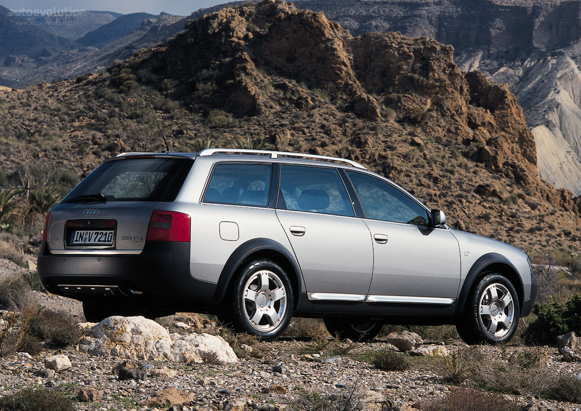 Audi Allroad 2000 2001 2002 2003 2004 2005 2006 Autoevolution